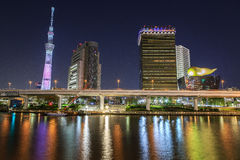 Tokyo at night Royalty Free Stock Photography