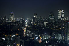 Tokyo night view Royalty Free Stock Image