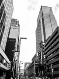 Tokyo, Nihombashi district skyscrapers Stock Photography