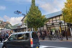 TOKYO - 24 NOV.: De mensen bezoeken Harajuku-Post op 24 November, 20 Royalty-vrije Stock Afbeelding