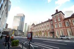 TOKYO - NOV 26: View of Tokyo Station Marunouchi Station Building Stock Photos