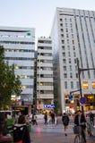 TOKYO - 21. NOVEMBER: Akihabara-Bezirk am 21. November 2013 in Tokyo, J Lizenzfreies Stockfoto