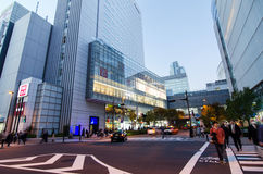 TOKYO - 21. NOVEMBER: Akihabara-Bezirk am 21. November 2013 in Tokyo, J Lizenzfreie Stockfotografie