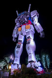 TOKYO 28. NOVEMBER 2015: Gundum-Roboter an Taucherstadtamtst. Lizenzfreies Stockfoto