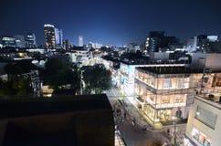 TOKYO - 24. NOVEMBER: Vogelperspektive von Omotesando-Bereichen nachts Lizenzfreie Stockbilder