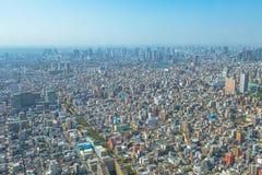 Tokyo and Odaiba skyline Royalty Free Stock Image