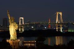 Tokyo. Odaibo. Royalty-vrije Stock Fotografie