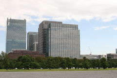 Tokyo office building Stock Images