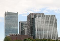 Tokyo office building Royalty Free Stock Photography