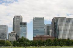 Tokyo office building Stock Photos