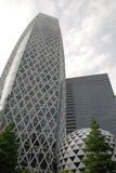 Tokyo Office Buildings Stock Photo