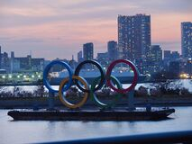Free Tokyo Olympics 2020 Royalty Free Stock Images - 174453629