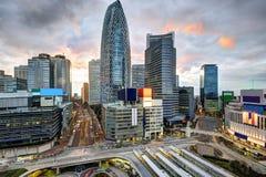 Tokyo på Shinjuku Arkivfoto