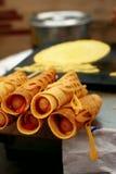 Tokyo Pancake Sausage Stock Image