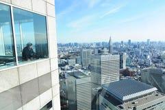 Tokyo panorama royalty free stock photo