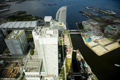 Tokyo panoramic view. A view on a city Stock Photography