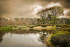 Tokyo park. View for lake in Tokyo park Royalty Free Stock Photo