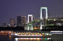 Tokyo Rainbow bridge Royalty Free Stock Photos