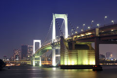 Tokyo Rainbow bridge Stock Photos