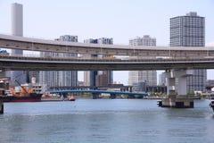 Tokyo - Rainbow Bridge Stock Image