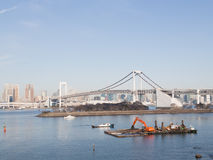 Tokyo Rainbow Bridge, Japan Royalty Free Stock Photo
