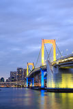 Tokyo Rainbow bridge in Japan Royalty Free Stock Photos