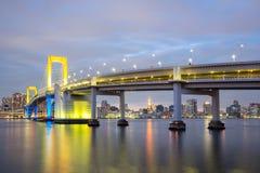 Tokyo Rainbow bridge Royalty Free Stock Image