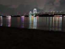Tokyo-Regenbogenbrücke lizenzfreie stockbilder
