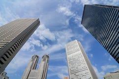Tokyo-Regierungs-Gebäude Stockfoto