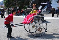 Tokyo rickshaw Stock Photography