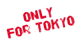 Only For Tokyo rubber stamp Stock Photo