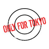 Only For Tokyo rubber stamp Stock Photography