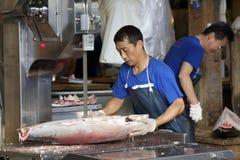 Tokyo's Tsukiji Seafood Fish Market Stock Photography
