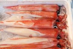 Tokyo seafood market Stock Photos