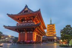 Tokyo - Sensoji-ji, Temple in Asakusa, Japan Stock Photos