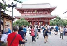 Tokyo Sensoji Temple Royalty Free Stock Photos