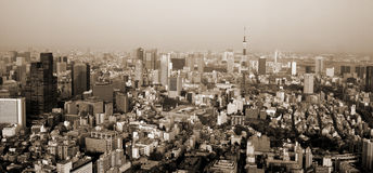 Tokyo Sepia Stock Photography