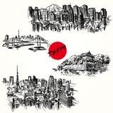 Tokyo stock illustration