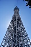 TOKYO - 5 settembre 2016: Albero del cielo di Tokyo La seconda costruzione più alta del mondo e più alto del Giappone 634m Il 5 s Fotografia Stock Libera da Diritti