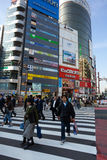 Tokyo Shibuya Stock Afbeelding