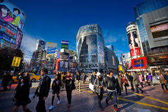 Tokyo Shibuya 2011 Stock Afbeelding