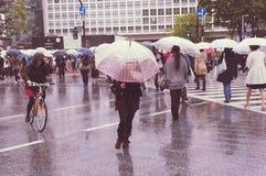Tokyo Shibuya crossing Stock Photography