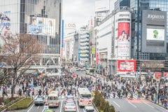 Tokyo, Shibuya district Stock Image