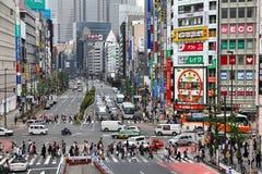 Tokyo - Shinjuku stock foto's