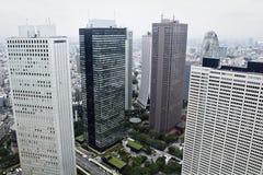 Tokyo: shinjuku cityscape Royalty Free Stock Photography