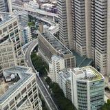 Tokyo: shinjuku cityscape Royalty Free Stock Photos