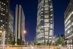 Tokyo shinjuku district buildings royalty free stock image