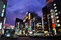 Tokyo Shinjuku Nightview Arkivfoton
