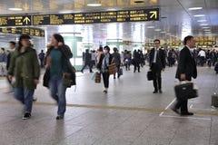 Tokyo Shinjuku Station Stock Photo