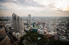 Tokyo sikt Fotografering för Bildbyråer